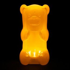 gummygoods gummy bear nightlight orange