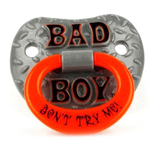 Bad Boy Toys : Billy bob bad boy pacifier