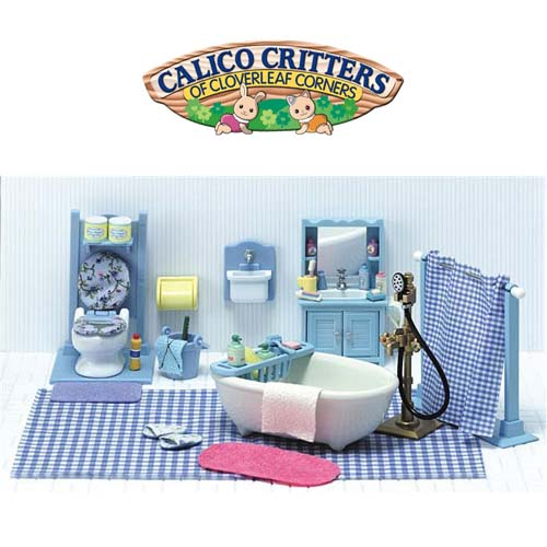 Calico Critters Master Bathroom