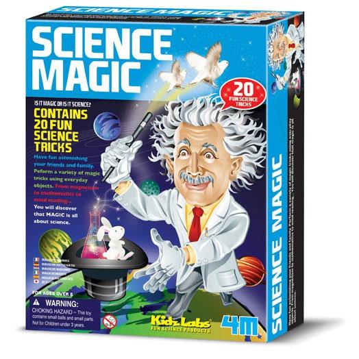 Science Magic Kit - 20 Tricks