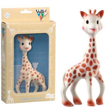 Sophie The Giraffe La Original Baby Teether By Vulli